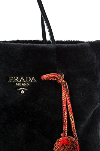 sac Prada l'épaule noir à femme SwdA4aqw