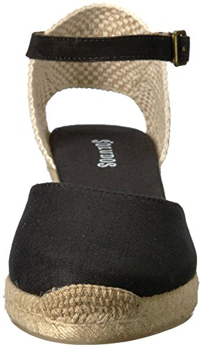 Closed Toe Womens Black 70mm Soludos Midwedge qEFcd5xawx