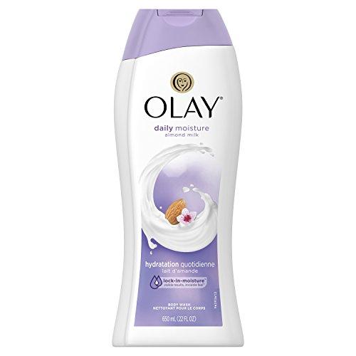 (Olay Daily Moisture with Almond Milk Body Wash, 22 oz)