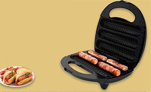 Elektrische Baking pan Sandwich Broodrooster Waffle Makers Hot Dog Machines Grillworst Tweezijdige Verwarming Anti-aanbaklaag Easy Clean Deep kookplaten 750W T WKY