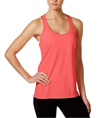 Ideology Womens Yoga Fitnesss Tank Top Pink S