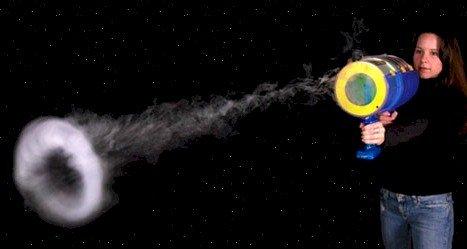 Mighty Blaster: Toroidal Emitter - Blast Huge Vapor Rings up to 20 Feet -