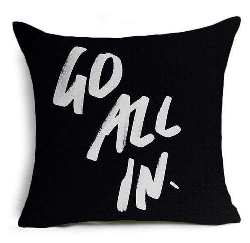 Dozili Motivational Cushion/Pillow Cover