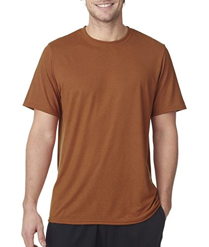 Men's core performance t-shirt. (Texas Orange) (X-Large) ()