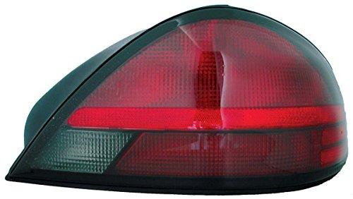 Pontiac Grand Am Rh Tail - TYC 11-5913-01 Pontiac Grand AM Passenger Side Replacement Tail Light Assembly