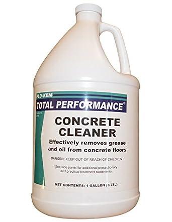 Flo kem 0018 heavy duty concrete floor cleaner for Heavy duty concrete floor cleaner