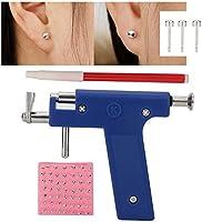 Professionellt verktygssats för öronhåltagande pistoler, smärtfritt håltagningsverktyg för kroppshål, näsnålsatser i stål...