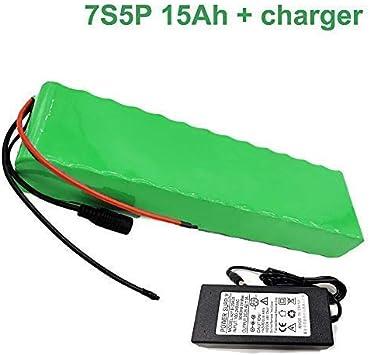 Seilylanka 24V 15Ah 25.9V 7S5P Li-Ion Paquete de baterías ...