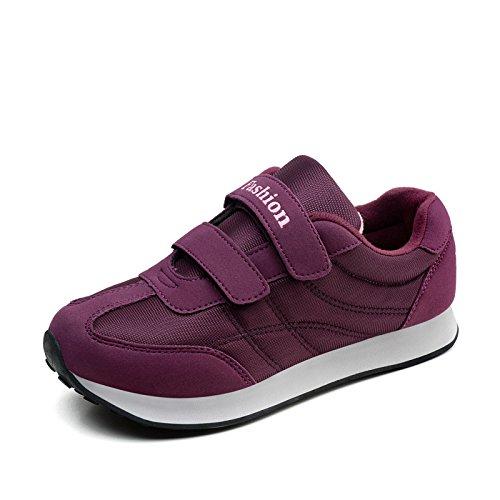 purple Transpirable Mujeres Antideslizante Zapatos Edad Mujer Fondo de Zapatos Deportivos Madre Hasag Femenino A6 de y el Las Suave Verano Primavera Mediana wASIH1