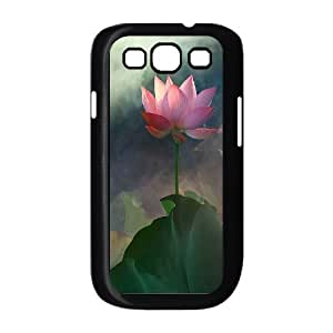 D-PAFD Phone Case Water Lily Hard Back Case Cover For Samsung Galaxy S3 I9300