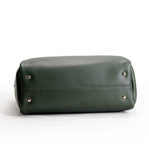 fashion Sac main en Sac portés à bandoulière M168 épaule Vert Sac portés LF Sac femme main cuir Valin WERnqUXxHw