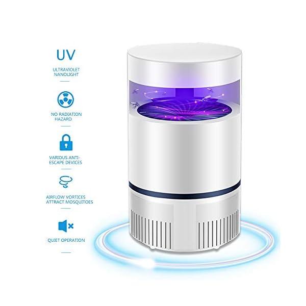 WENJZJ UV Lampada Antizanzara Lanterna Campeggio Killer zanzare Lampada zanzara Zanzariera Elettrica Mosquito Trap… 1 spesavip