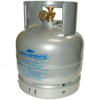 Bombona gas GLP de kg 2 vacía recargable de camping viaje ...