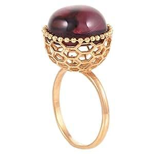 Superoro Ladies 14K Gold Ring - Size 7.5 US