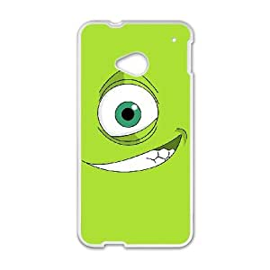 Monsters HTC One M7 Cell Phone Case White MSY206484AEW