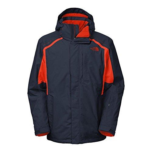 The North Face Vortex Triclimate Jacket Mens Cosmic Blue/Acrylic Orange M