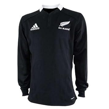 d9b55e283 New Zealand All Blacks Home LS Rugby Jersey- Medium  Amazon.co.uk  Sports    Outdoors