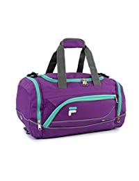 "Fila Sprinter 19"" Sport Duffel Bag, Purple/Teal"