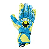 uhlsport Radar Control SUPERGRIP HN Goalkeeper Gloves Size 9 Radar Blue/Fluo