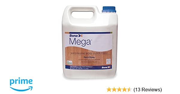 Bona Mega Semi Gloss 1 Gallon Floor Smoothing And Finishing