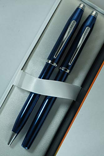 Cross Century II Limited Series, Pearlescent Metallic Blue selectip Gel Ink Rollerball Pen and Ballpoint Pen. by A.T. Cross (Image #4)
