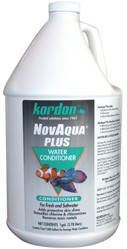 Kordon #33162 Novaqua Plus-Water Conditioner for Aquarium, 1-Gallon ONLY