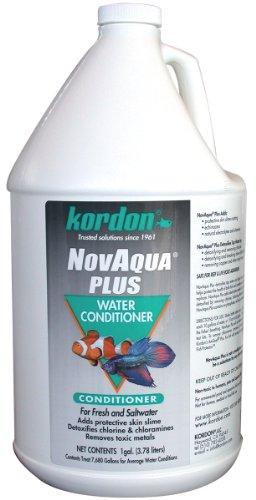 (Kordon #33162 Novaqua Plus-Water Conditioner for Aquarium, 1-Gallon ONLY)