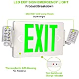 Ultraslim LED Exit Sign Emergency Light with Double