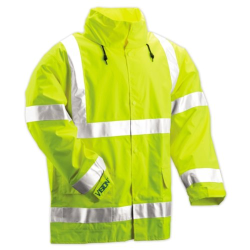 Tingley Rubber J23122 Vision CL3 Breathable Jacket with Hood