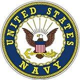 united states decor - United States Navy Aluminum Sign Round 12