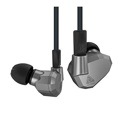 KZ ZS5 Dynamic Hybird Quad Driver High Fidelity In-Ear Headphones, ()