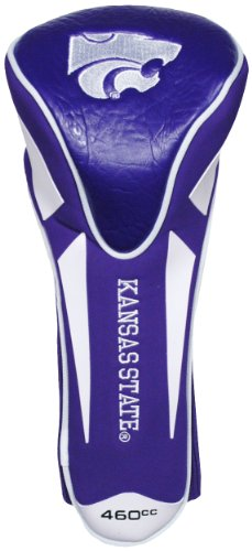 Team Golf NCAA Kansas State Wildcats Golf Club Single Apex Driver Headcover, Fits All Oversized Clubs, Truly Sleek Design