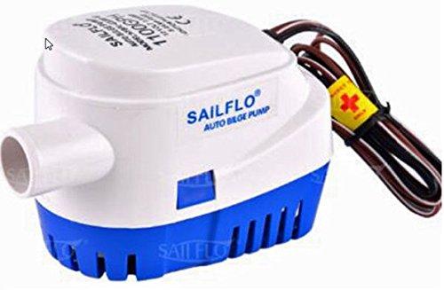 SAILFLO 24V DC Water Pressure Diaphragm Pump Pressure Pump for Caravan/RV/Boat/Marine (80PSI/1.1GPM)