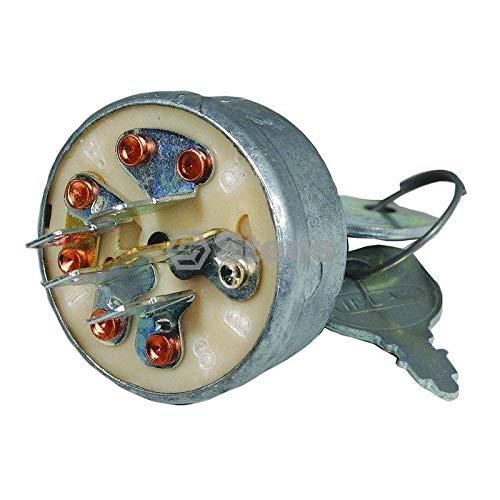 (Stens 430-249 Starter Switch Replaces John Deere AM103286 Toro 12-8140 Ariens 03115200 Jacobsen 129846 National 1A808B John Deere AM32318 Gravely 019223)
