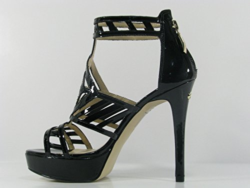 Zapatillas de Sandalias Elegantes Guess Pintura Mod. Kamara FL2KAEPAT03 Coronel Negro.