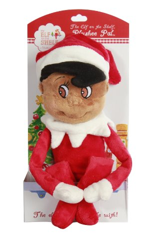 "The Elf on the Shelf: Plushee Pals 19"" Elf Dark Skin"