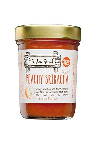 The Jam Stand, Peachy Sriracha Jam, 9.5 oz by The Jam Stand
