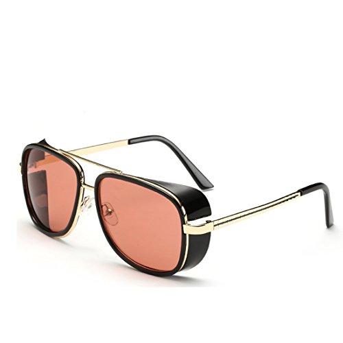 SITTEEH Iron Man 3 Actor Windshield personality box sunglasses,100% UV - Sunglasses 3 Ironman