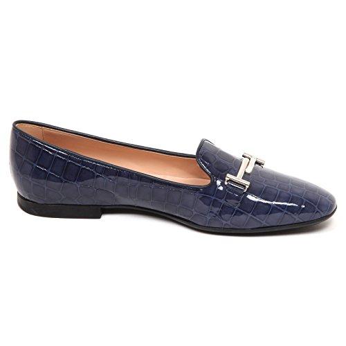 Light T Tod's Scarpe Doppia Blu Ballerina E4194 Woman Donna Chiaro Shoe qwwt0g