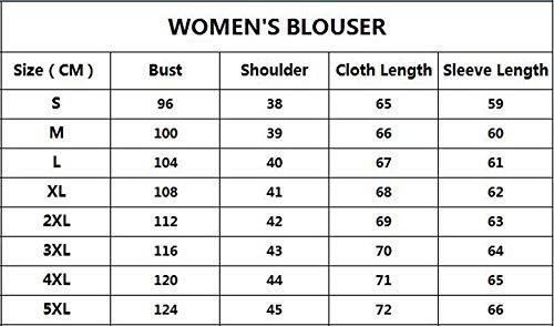 Blouses Femmes Mousseline col en v Royal Unie pour Shirt Soie en Longues de Couleur lgant Bleu Tops Manches 4rpzU4FWn