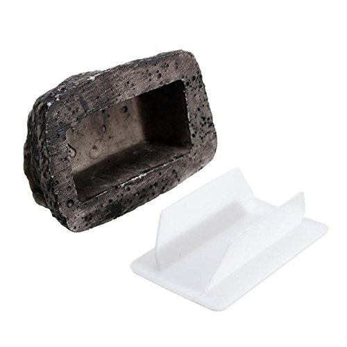 Katoot@ Key Box Rock Outdoor Hide in Stone Storage Security Safe Organizer Door Case Box Hiding Garden Ornament 6x8x3cm Fake Rock Holder