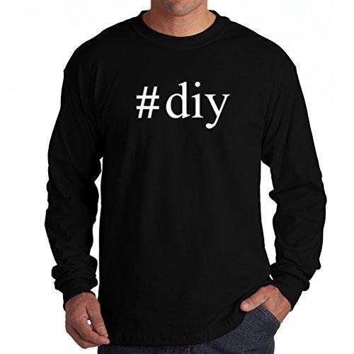 #Diy Hashtag Long Sleeve T-Shirt