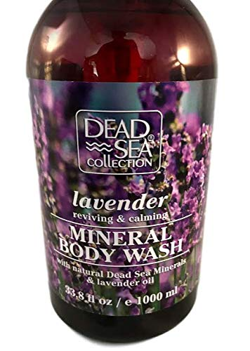 - Mineral Body Wash Lavender Dead Sea Collection Reviving & Calming Oil Large Pump Bottle