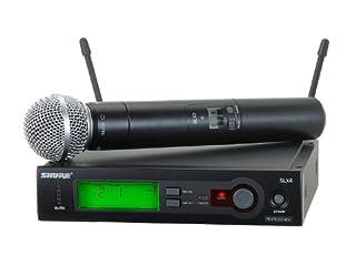 Shure SLX24/SM58 Handheld Wireless System, L4 (B0006GD6MC) | Amazon