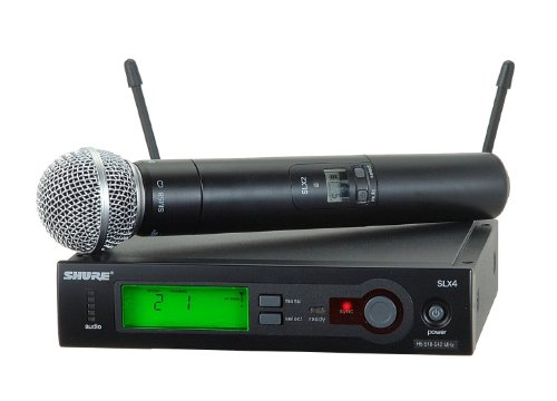 (Shure SLX24/SM58 Handheld Wireless System, H5)