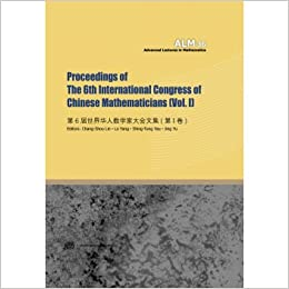 Proceedings Of The 6th International Congress Chinese Mathematics VolII Sixth World Conference Mathematicians First VolumesChinese