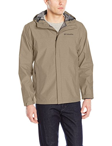 Columbia Men's Diablo Creek Rain Shell, sage, L