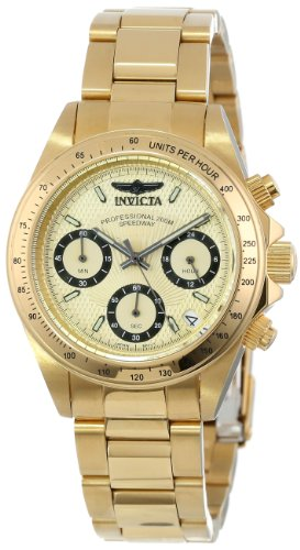 Invicta Women's 14931 ''Speedway'' 18k Yellow Gold Ion-Plated Stainless Steel Bracelet Watch by Invicta