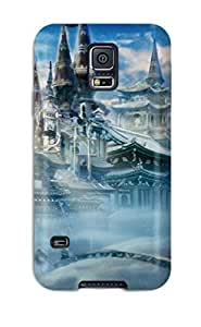Defender Case For Galaxy S5, Castle In The Snow Pattern