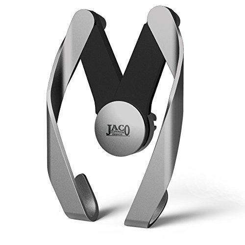 JACO AutoPro Car Phone Mount Holder - Universal Air Vent Cradle for Smartphones (Space Gray)
